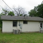 Rear of home